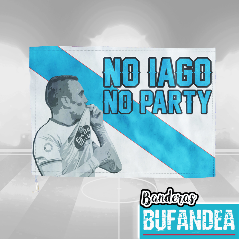 Bandera Celta: No Iago No Party