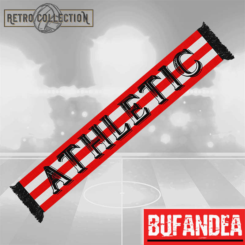 Bufanda Athletic Retro Negro