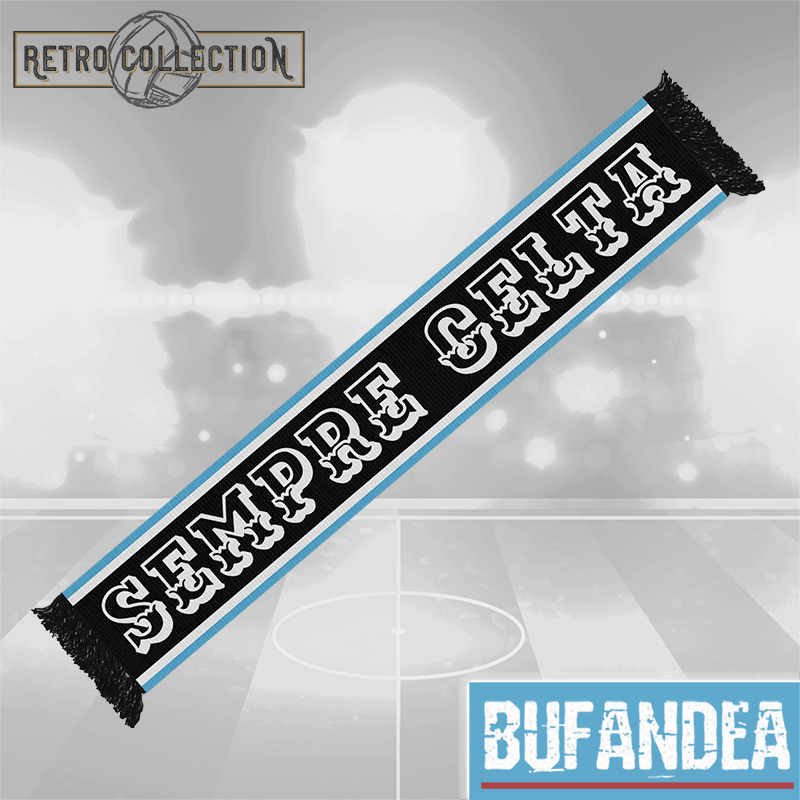 Bufanda Celta: Retro (mod.black)