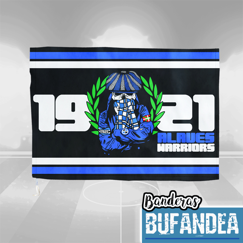 Bandera Alavés Warriors