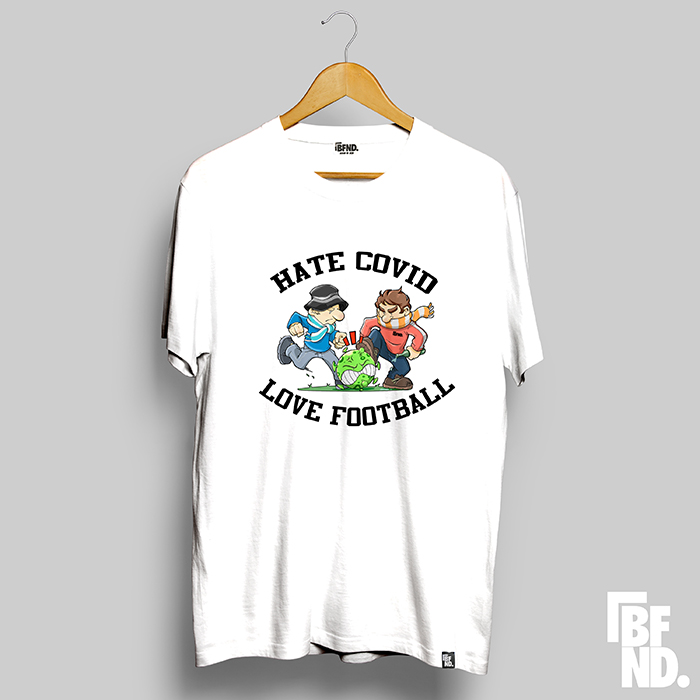 Camiseta Love Football Blanca (Edición Limitada)