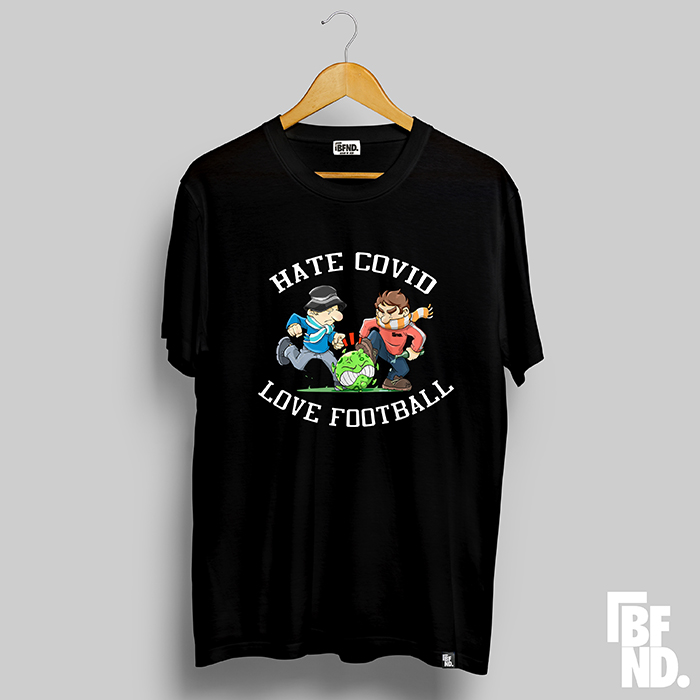 Camiseta Love Football Negra (Edición Limitada)