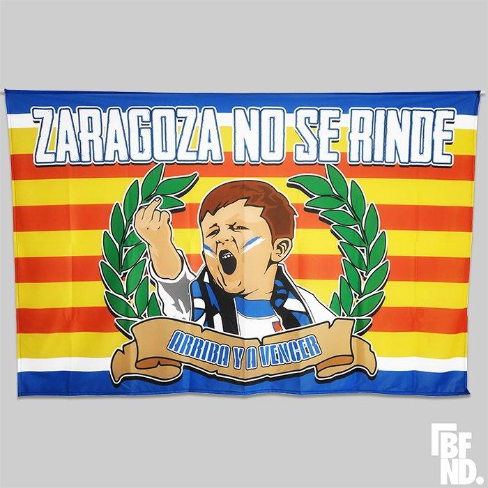 Bandera Zaragoza No Se Rinde