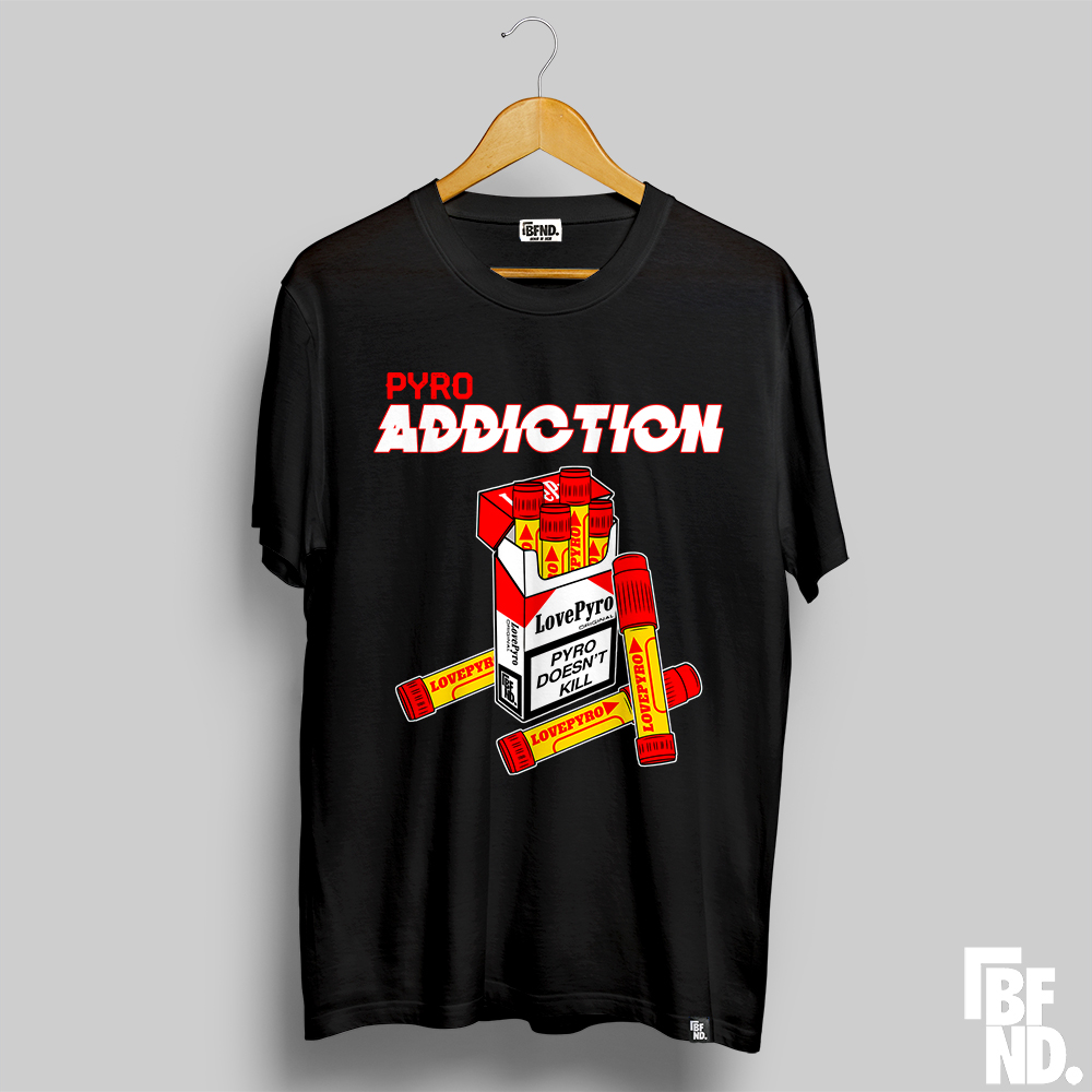 Camiseta Pyro Addiction