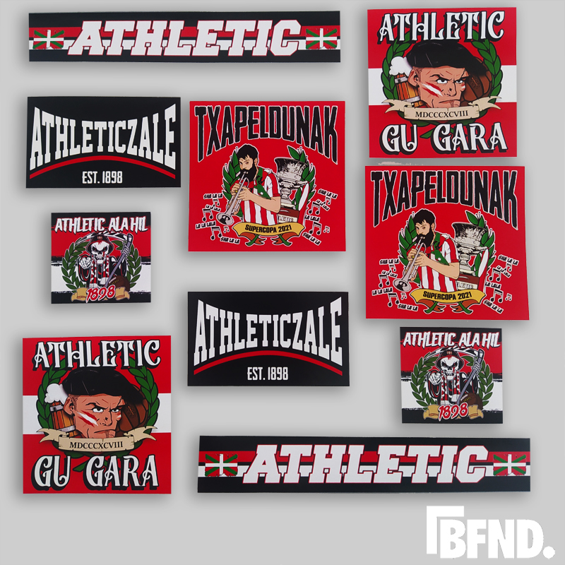 stickers athletic