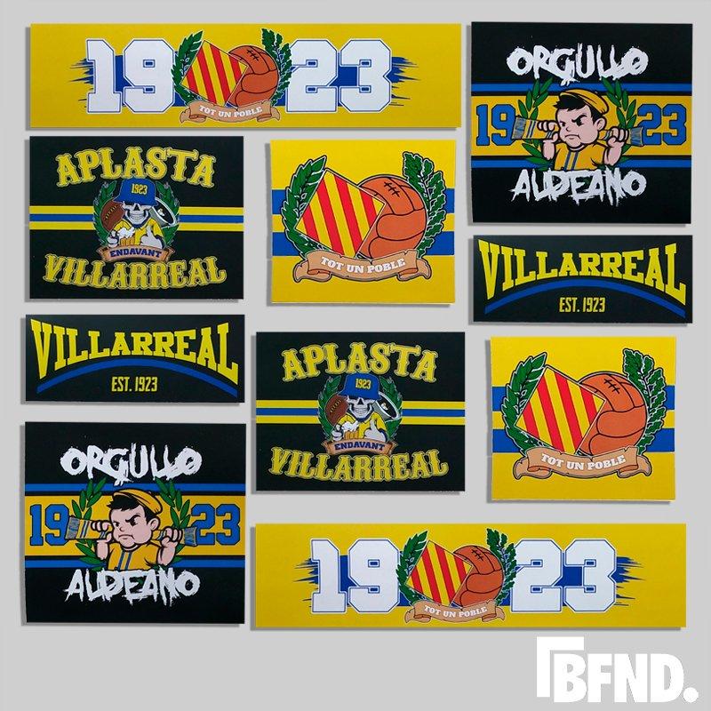 Stickers Villarreal
