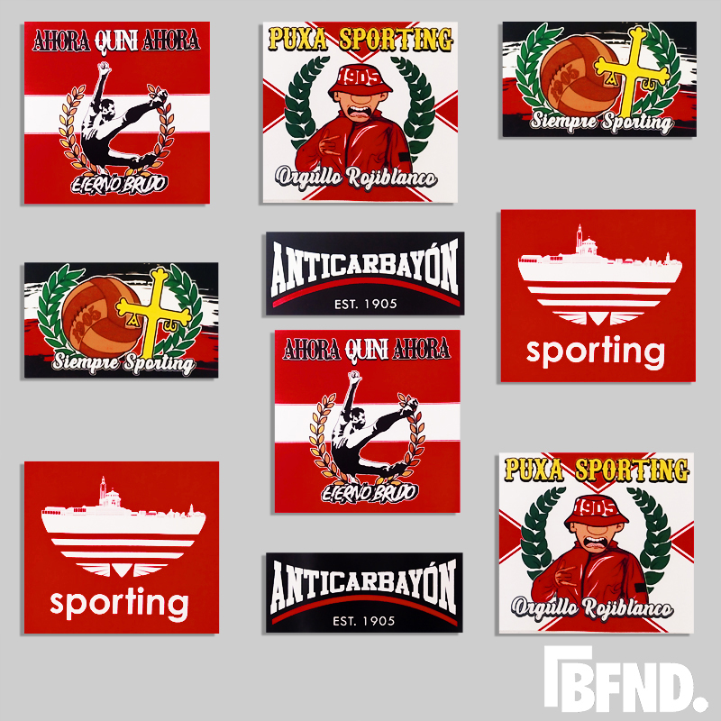 Stickers Sporting